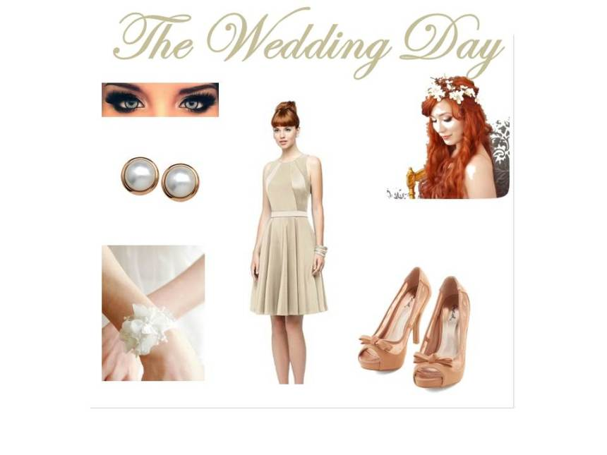 The Wedding Day Collage