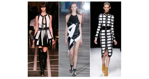 monochrome Givenchy, Anthony Vaccarello, Balmain