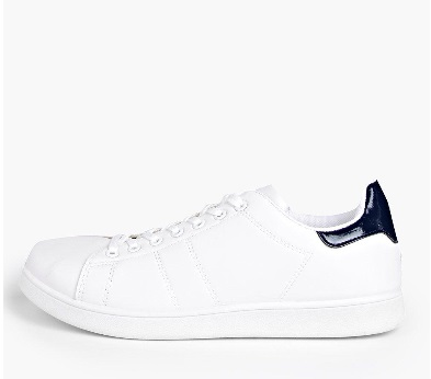 Lace Up Contrast Trainers