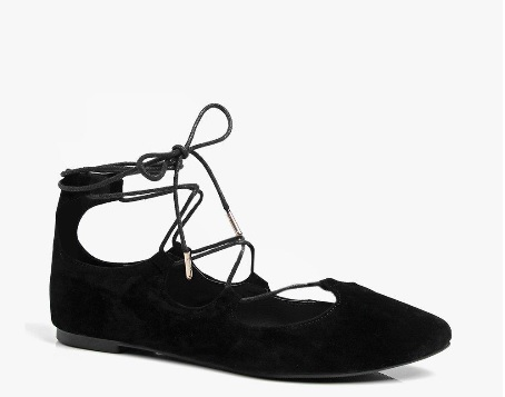 Molly Lace Up Ghillie Pointed Ballet