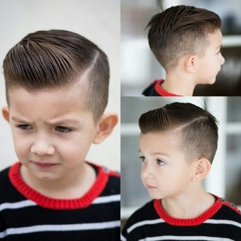 Fade-with-Side-Part