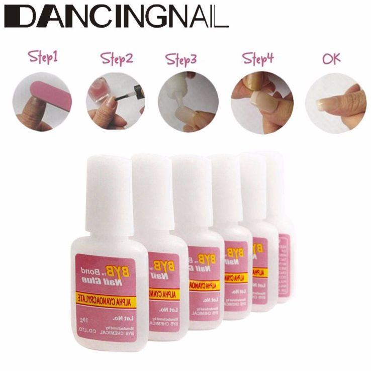 Nail glue x3pk