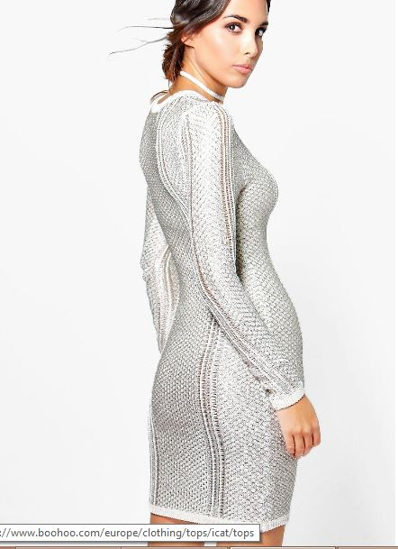 bella-boutique-metallic-knit-midi-dress-back