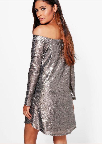 boutique-li-sequin-off-shoulder-shift-dress-back