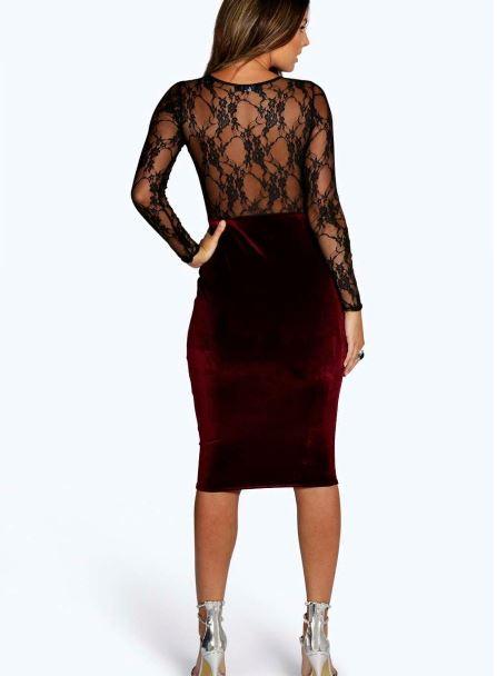 shea-velvet-lace-long-sleeve-bodycon-dress-back