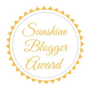 Tag Post #7 | Sunshine Blogger Award!