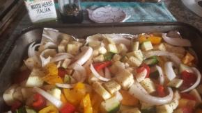 Recipe #5 | Mix of VegetablesPasta