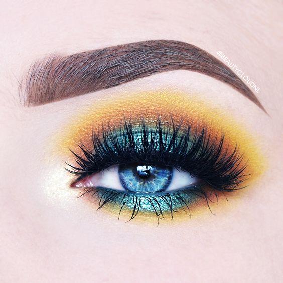 bold bright eyeshadow