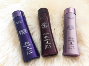 Caviar hair products