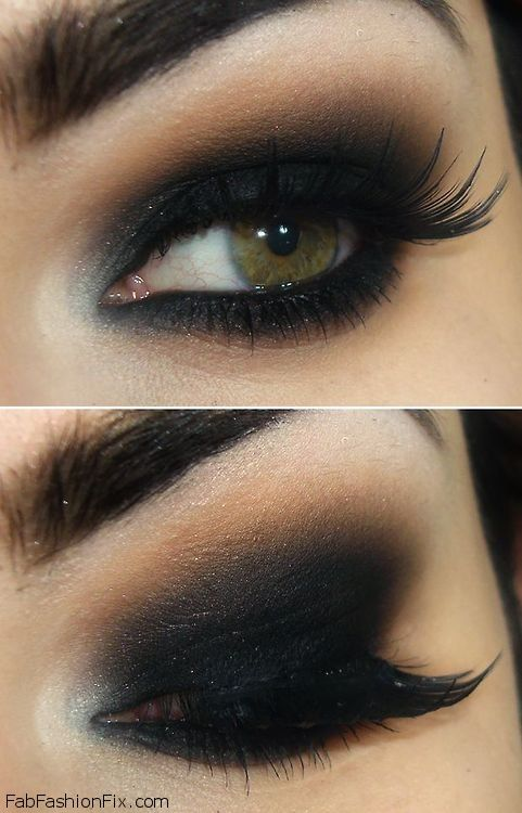 heavy smokey eye 1