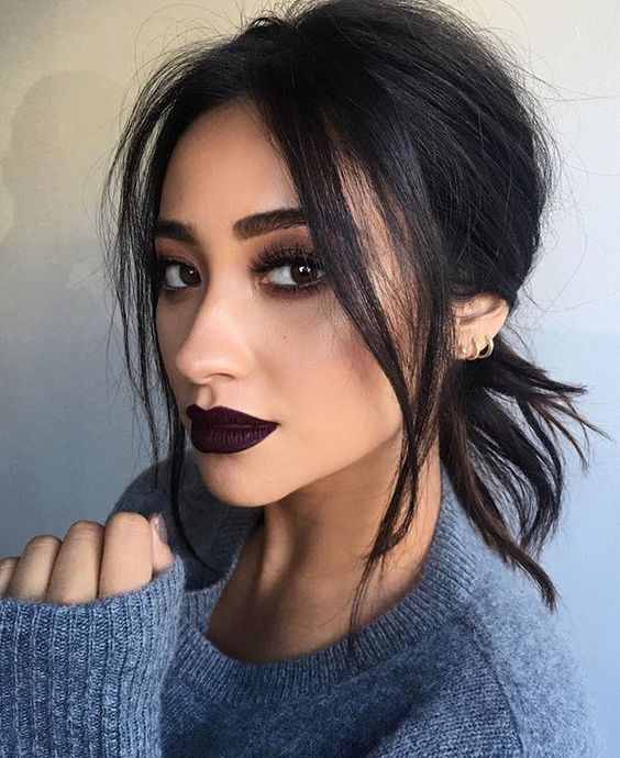 Plum lips 2