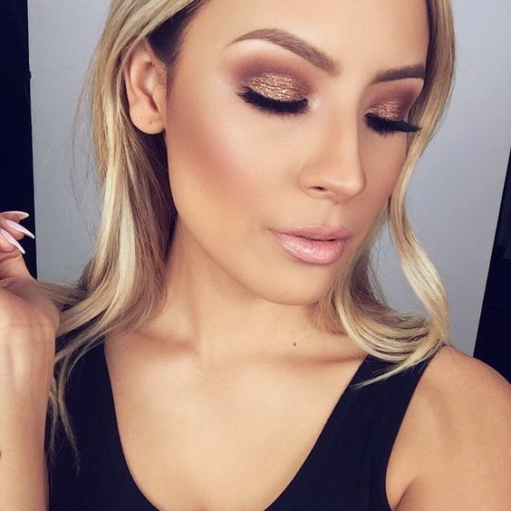 Rose-Gold Cheeks and Lids 1