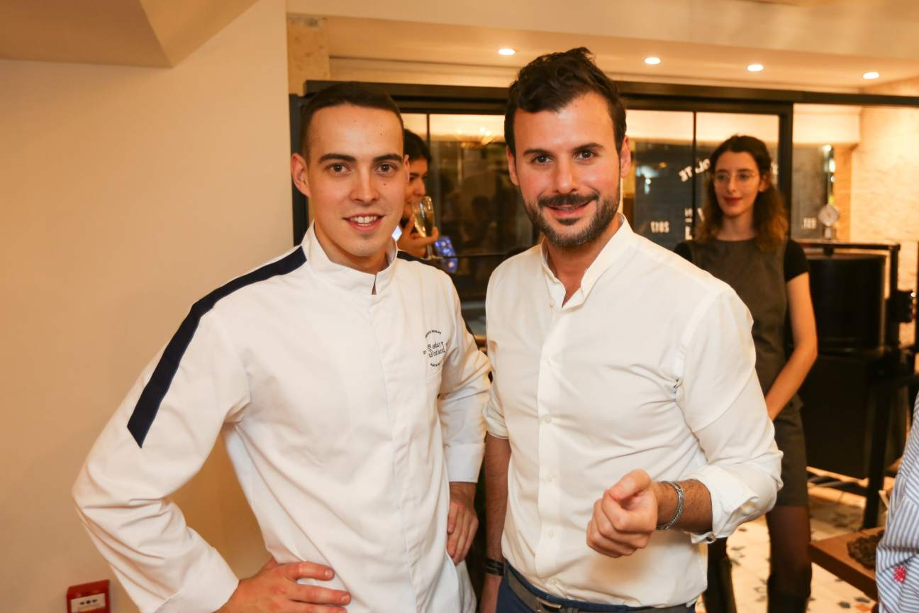 Social - Chef Geoffrey Barault and Sunday in Scotland founder Amer Mahoud-min