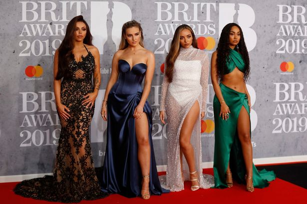 Little mix The-Brit-Awards-at-the-O2-Arena-in-London
