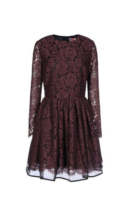 The lace dress