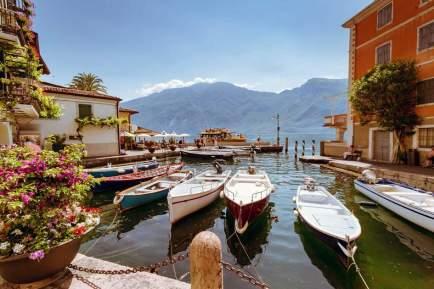 Shore at Lake Garda